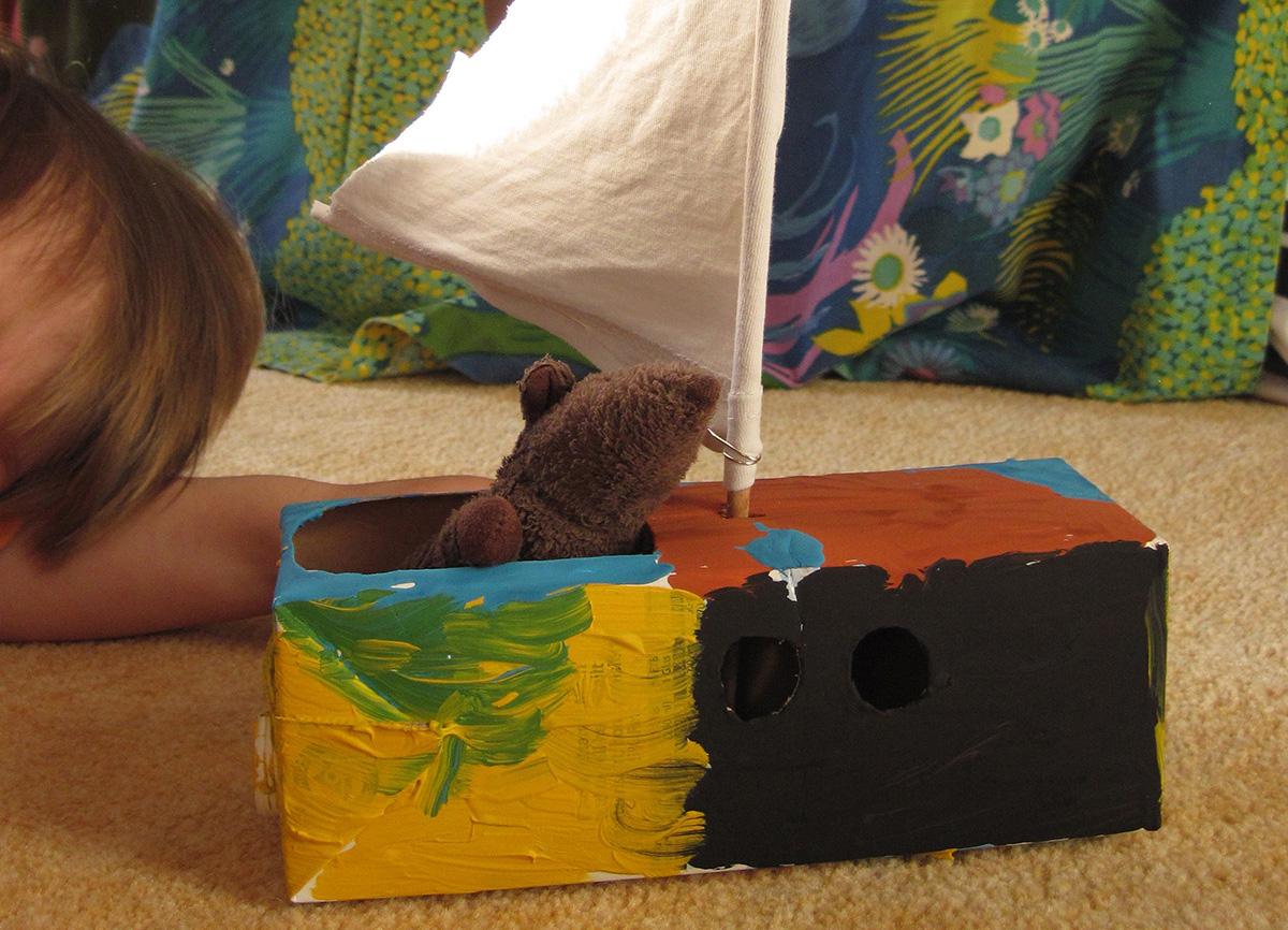 Basteltipp: Mausboote aus Tetrapaks