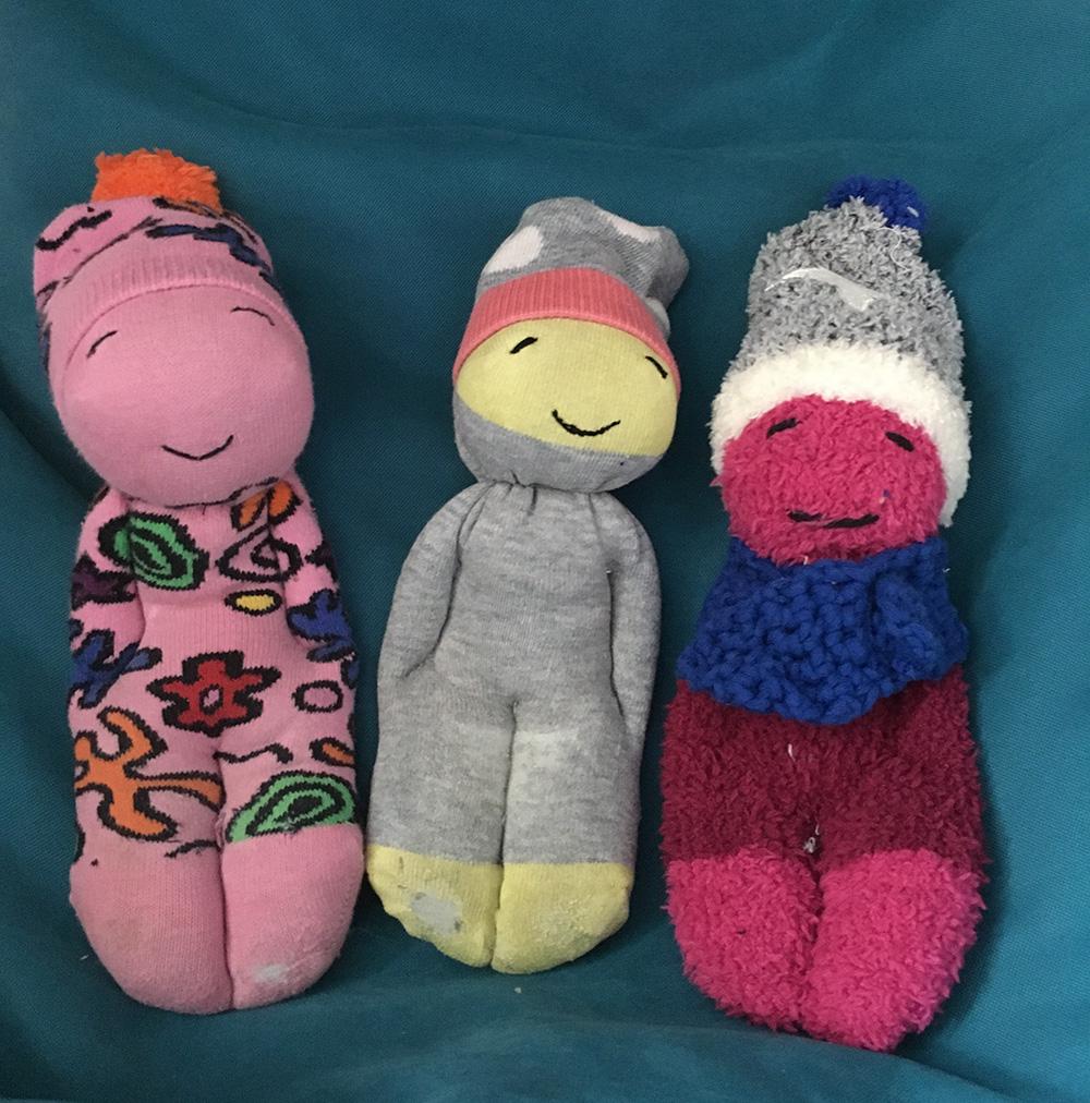 Basteltipp: Socken-Dude – Süßes Upcycling