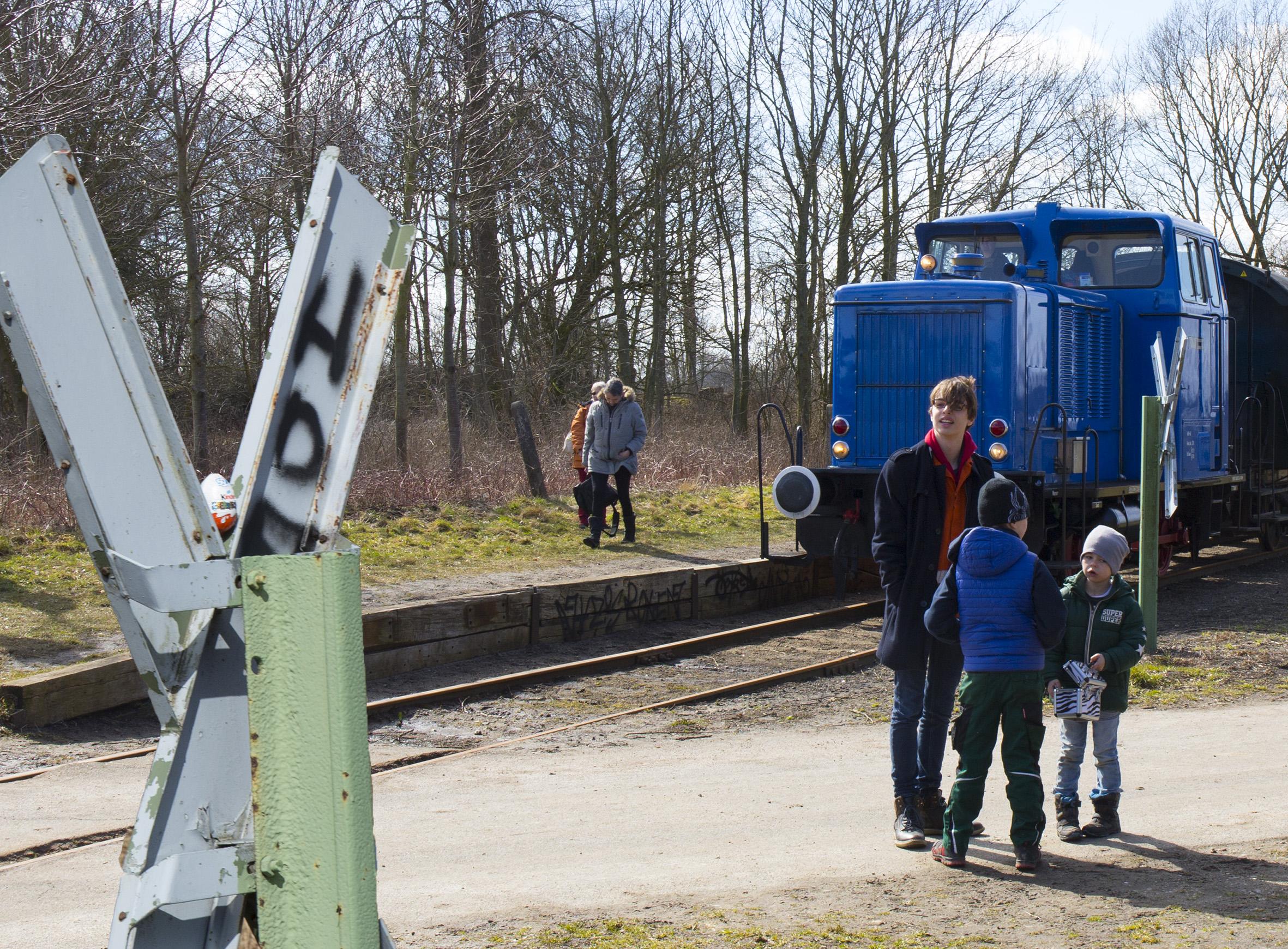 Schönberg: Der Osterhase fährt mit dem Zug