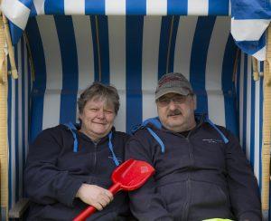 Arbeiten, wo andere Urlaub machen: die Strandwärter vom Schönberger Strand