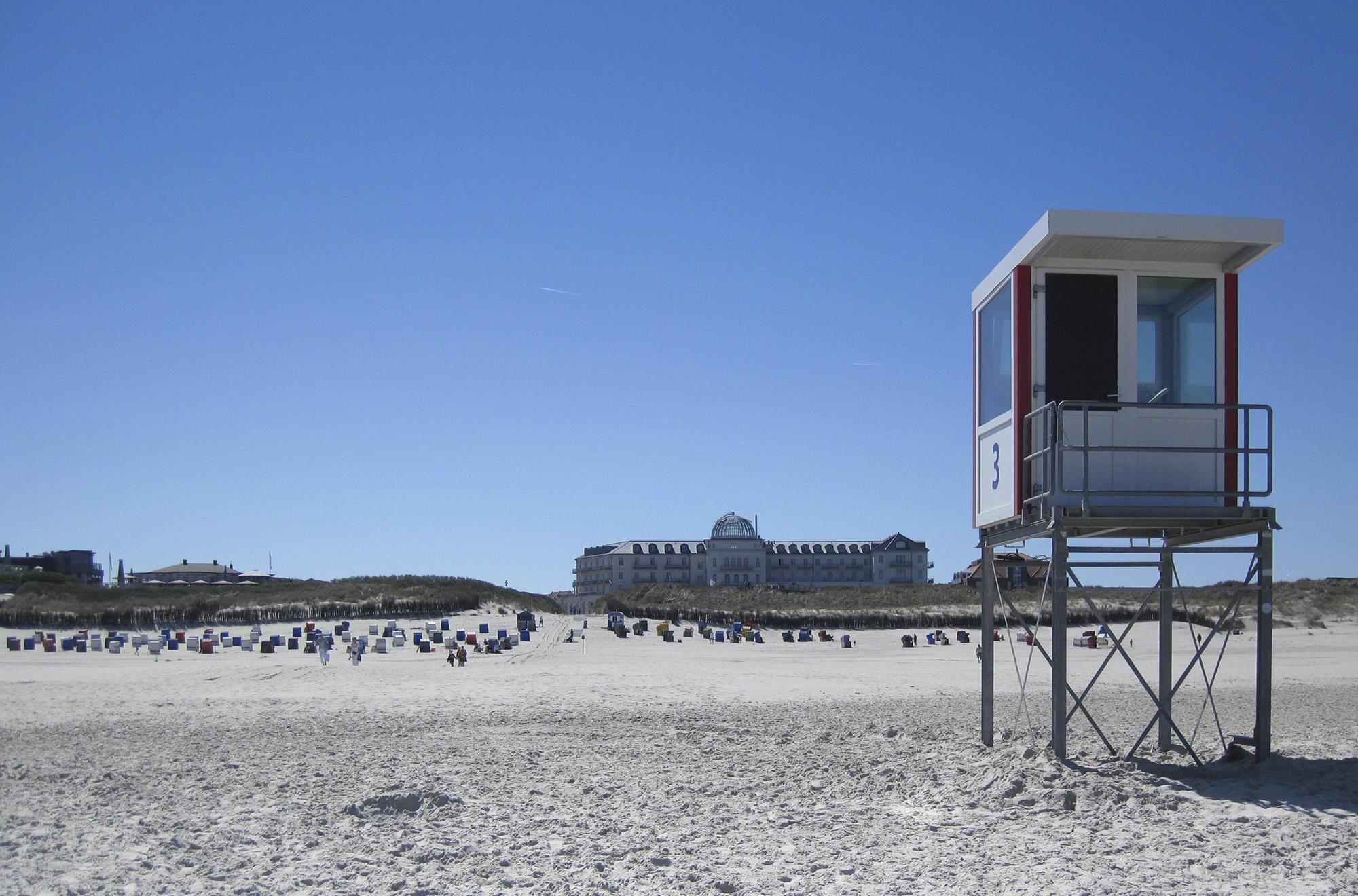 Strandbesuch: Willst du Strand, fahr nach Juist!
