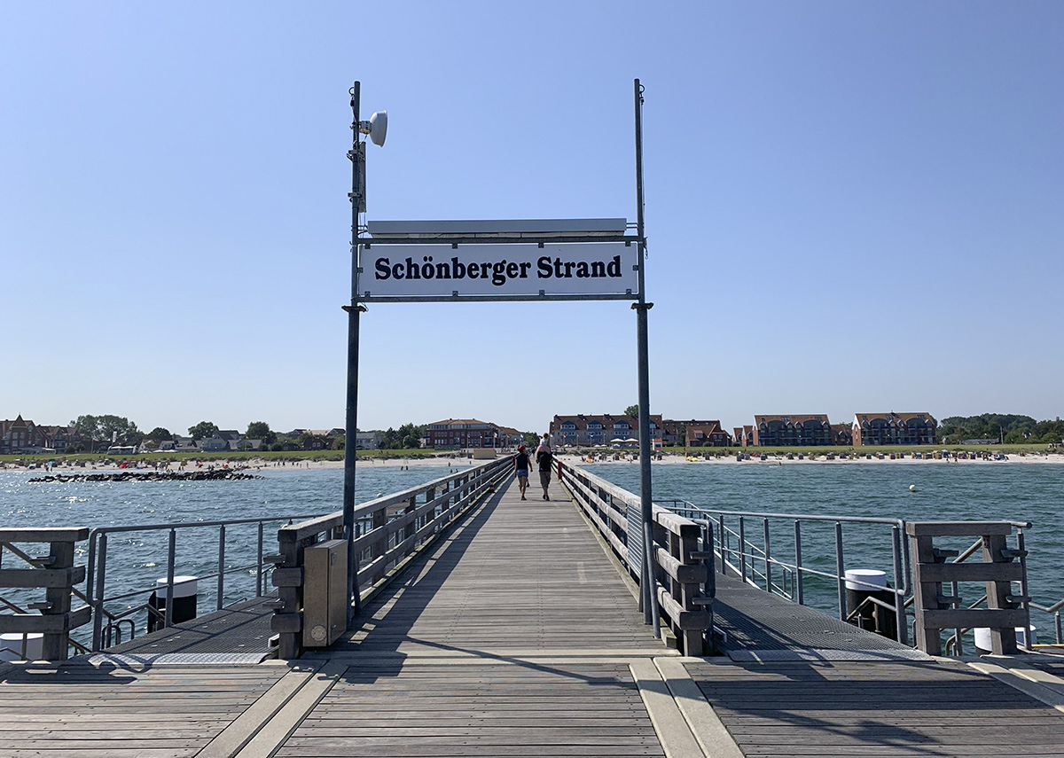 Seebrücke, Schönberg Strand
