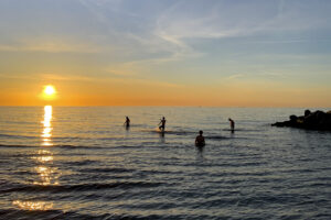 Abends am Meer: Gibt es etwas Schöneres?