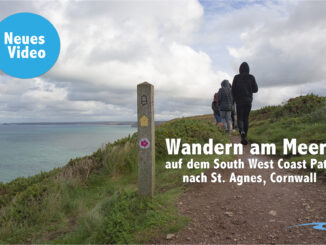 Wandern am Meer: Auf dem South West Coast Path in Cornwall nach St. Agnes