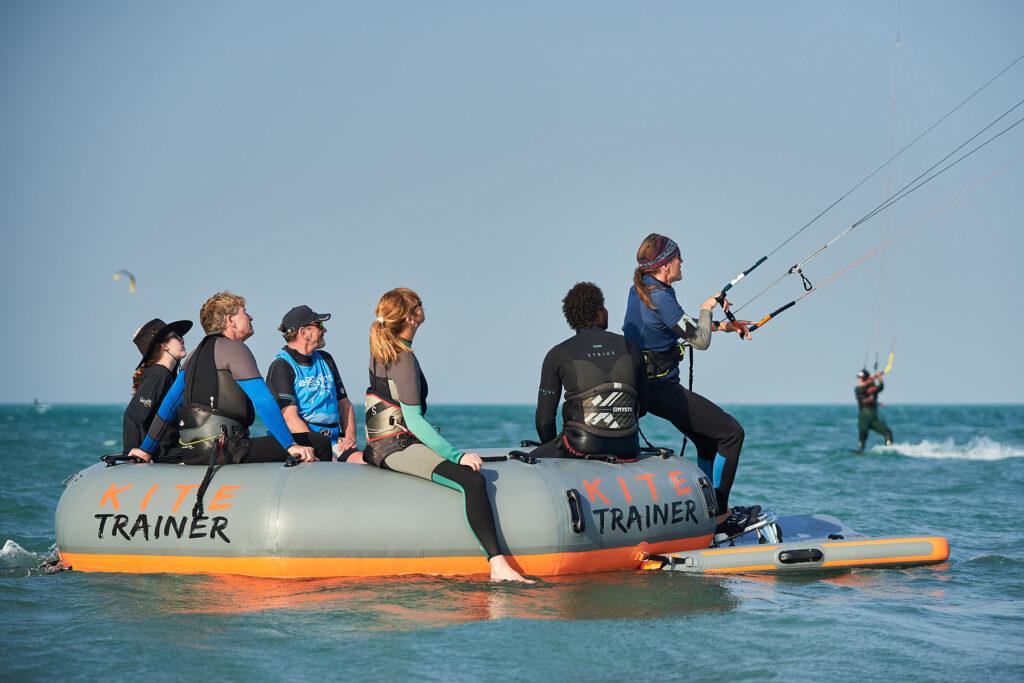 Kiten lernen ohne Angst: mit den KiteTrainer. (Foto: Lange Erfolg GmbH)