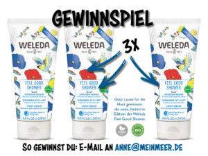 Gewinnspiel Weleda Feel Good Shower