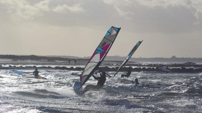 Windsurfer in der Probstei