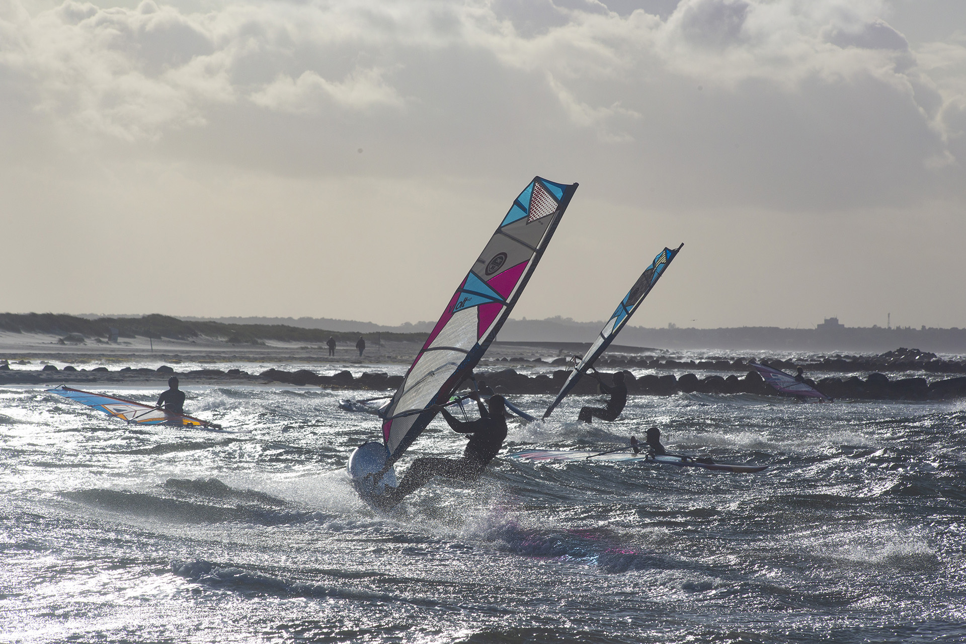 Windsurfer in der Probstei