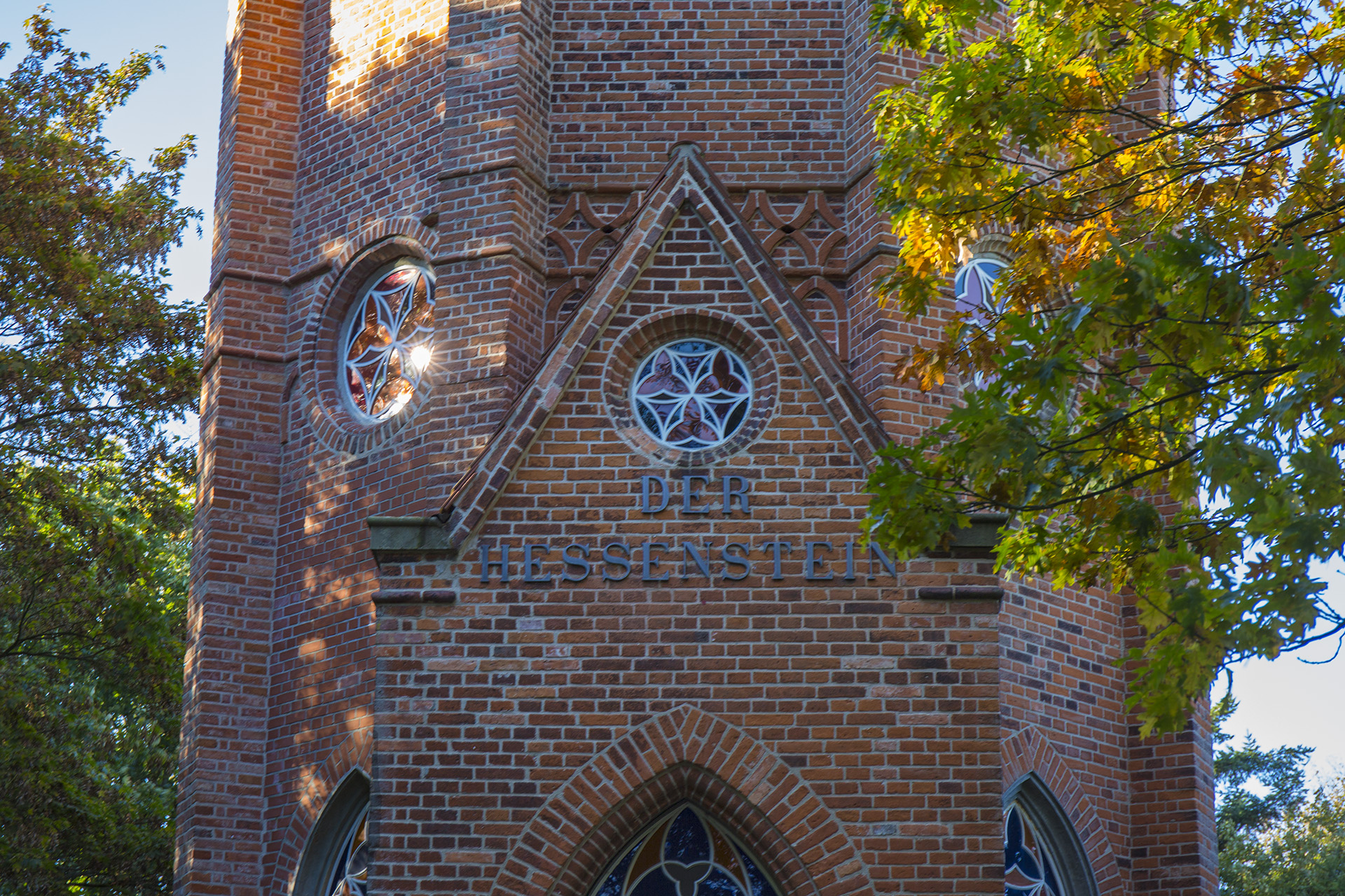 Herbstlicher Ausflug: Vom Hessenstein aus bis nach Dänemark schauen