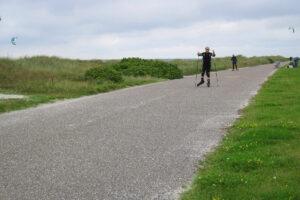 Nachgefragt bei… Andrea Kittler: Womit fährst du denn da am Deich lang?