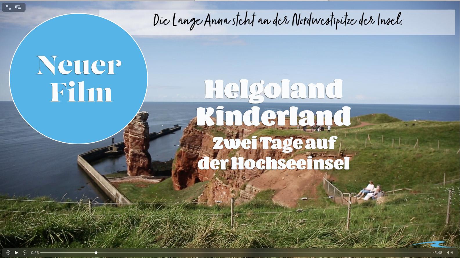 Helgoland: Zwei Tage mit Kindern auf der Hochseeinsel