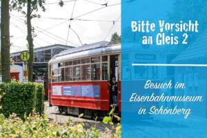Mit Kindern im Museumsbahnhof: Bitte Vorsicht an Gleis 2!